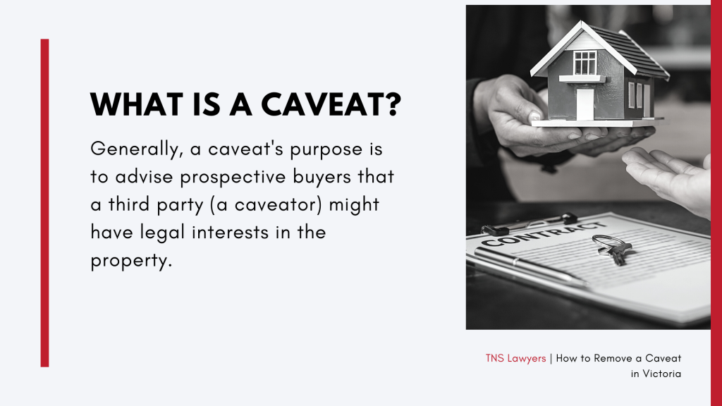 what is a caveat