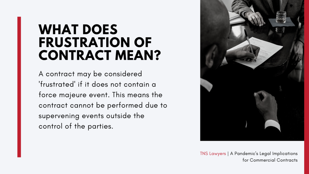 what is frustration of contract