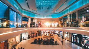 shot of a mall's interior
