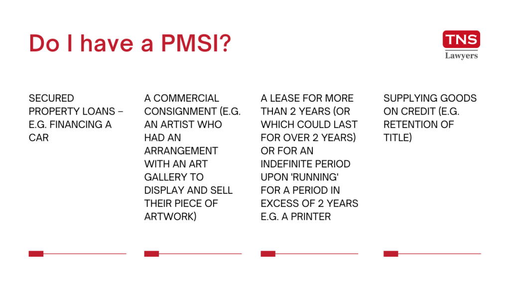 how to know if you have PMSI
