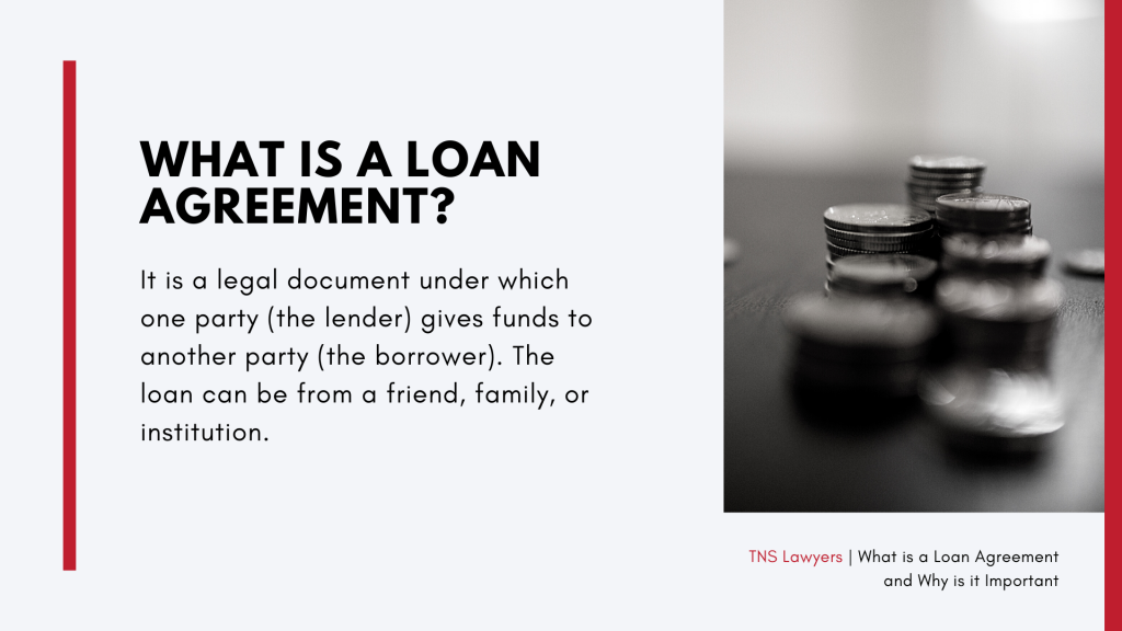 what is a loan agreement