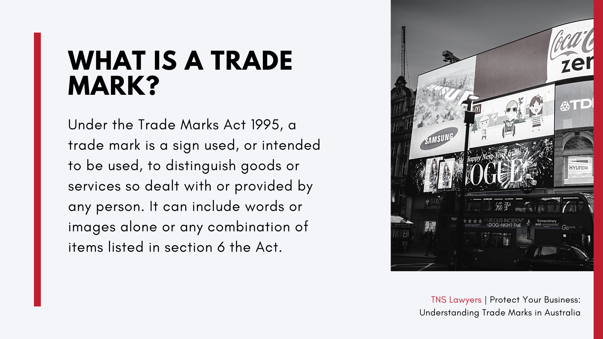 what is a trade mark Australia